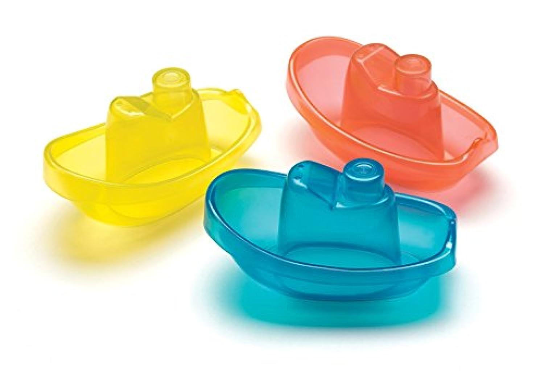 Playgro Three Boat Baby Bath Toys [並行輸入品]