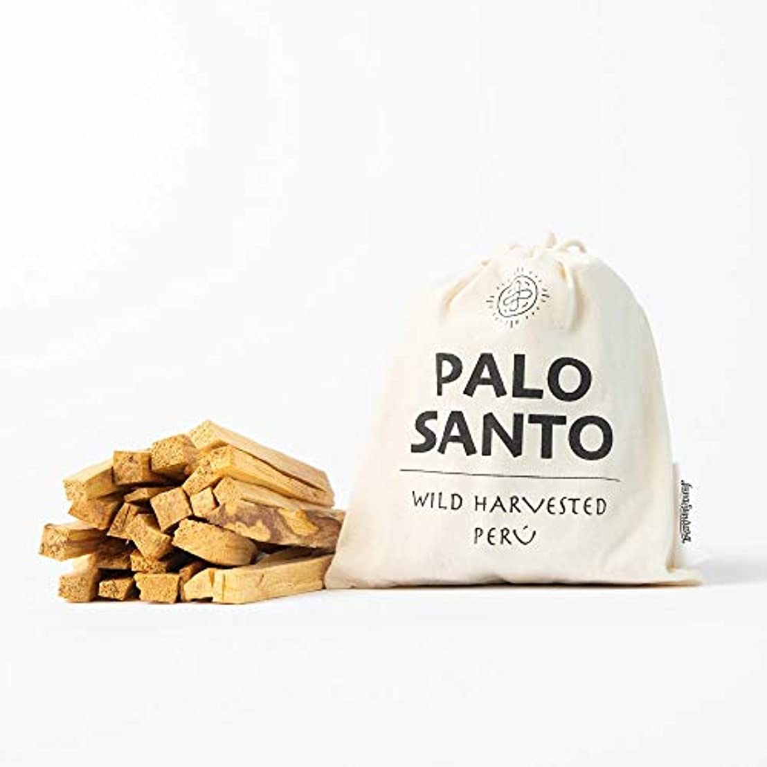 幸運自然公園独創的ルナスンダラ (Luna Sundara) Palo Santo Smudging Sticks パロサント スマッジングスティック香木[100g入りBag]