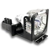 OEM SANYOプロジェクターランプforモデルplc-se20元電球と汎用ハウジング