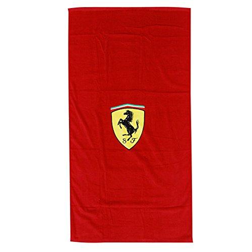 フェラーリ SF バスタオル  カラー:レッド