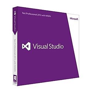Microsoft Visual Studio Test Professional 2013 with MSDN英語