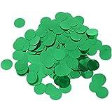 Baoblaze 結婚式 飾り ラウンド 紙くり装飾 約30g パーティー 盛り上げ 多色選べ  - 緑