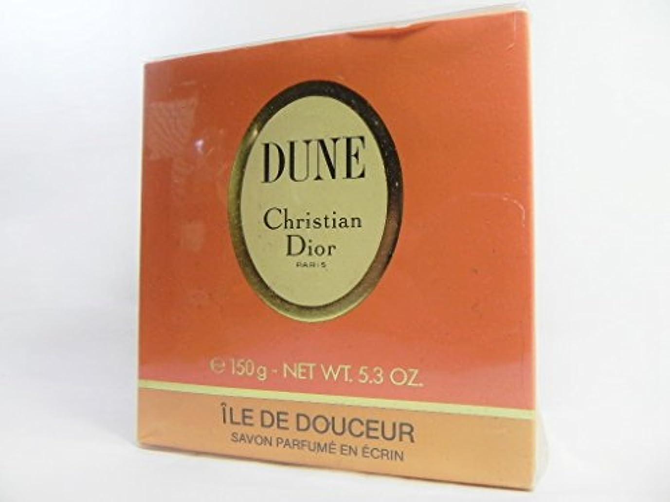 レース条約批評Dior(ディオール) DUNE デューン 石けん サヴォン ソープ SAVON SOAP 150g [並行輸入品]