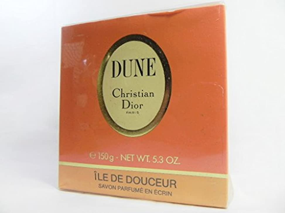 驚運命的な誰でもDior(ディオール) DUNE デューン 石けん サヴォン ソープ SAVON SOAP 150g [並行輸入品]
