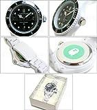 時計 BAPE BAPEX CLEAR (ベイペックス・クリア) WHITE (ホワイト) ア・ベイシング・エイプ画像②