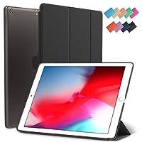 iPad Mini 5ケース スカイスリムフィット スマートラバーフォリオ ハード半透明つや消しカバー 軽量 ウェイクスリープ Apple iPad Mini 第5世代 2019モデル A2133 A2124 A2126 7.9インチディスプレイ用 19B01