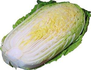 白菜【ハクサイ・はくさい】 1/2カット 芯の部分は細切りにしてサラダで! 【九州・大分・福岡・熊本産】