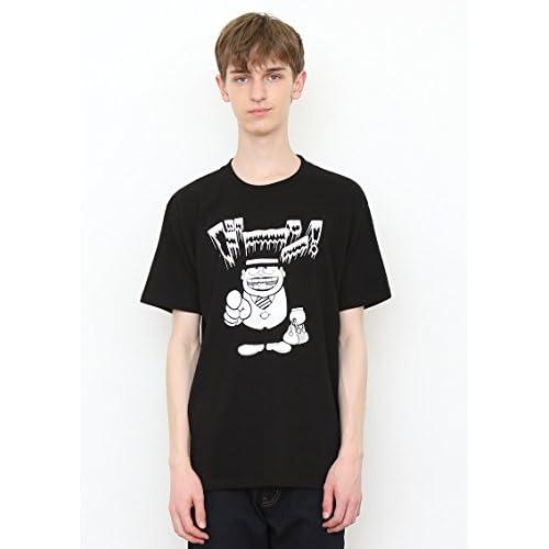 (グラニフ)graniph コラボレーションTシャツ / 喪黒福造 ( 藤子不二雄A ) ( ブラック ) L