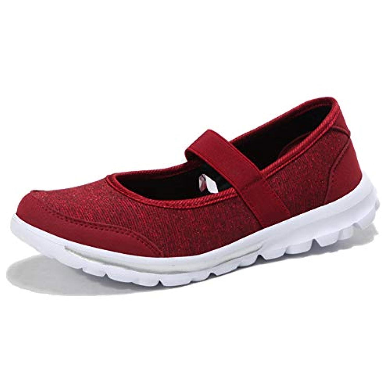 こしょう余計な瞑想[Nomioce] レディース安全靴 ナースシューズ 疲れにくい 通気 柔軟 メッシュ 軽量 婦人靴 お母さん お年寄りシューズ 普段履き カジュアル 上履き 上靴 介護靴 ウォーキングシューズ 大きいサイズ