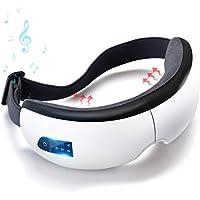 コノビヤ 目元マッサージャー 目マッサージ器 目元美顔器 温め機能 音楽機能 Bluetooth タイマー設定 5モード 振動 気圧アイエステ 多周波振動 目元 ヒーター ホットアイマスク180度二つ折り 通気性 疲労 癒し 血行促進 安眠 日本語説明書