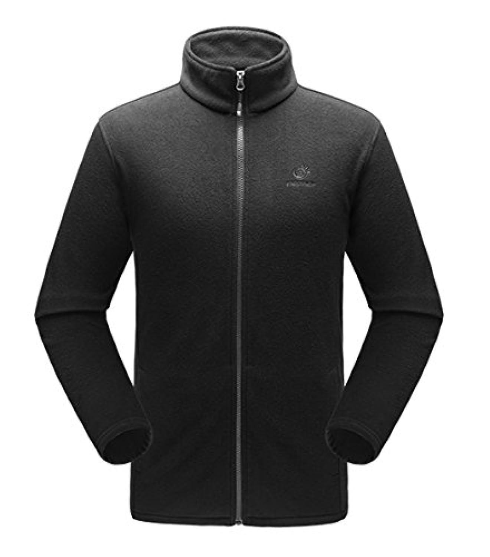 Unboxメンズfront-zip Polar Fleeceジャケットプルオーバー