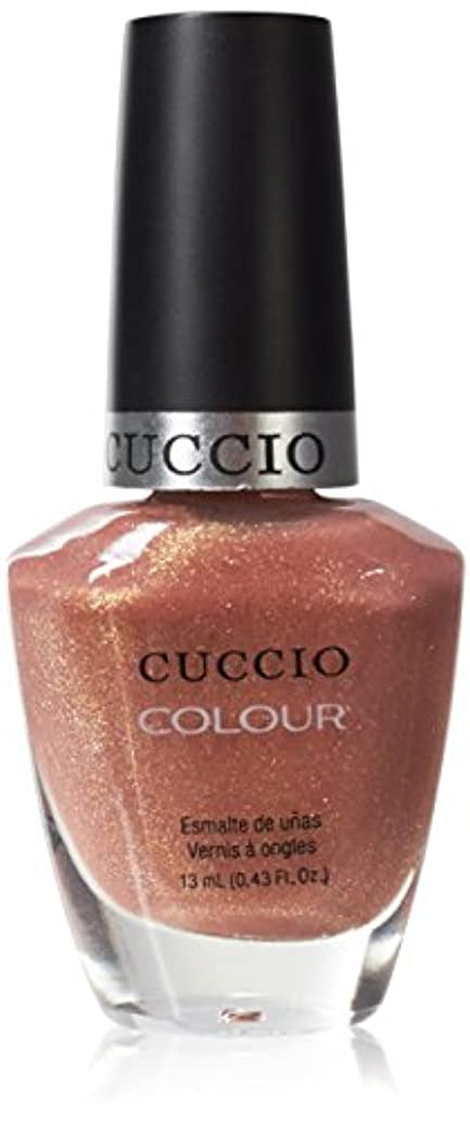 注釈ブラジャー存在するCuccio Colour Gloss Lacquer - Sun Kissed - 0.43oz / 13ml