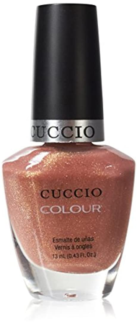 代わりにを立てるホーム闇Cuccio Colour Gloss Lacquer - Sun Kissed - 0.43oz / 13ml
