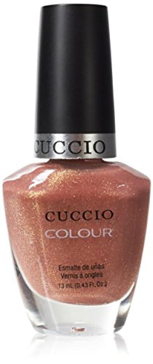 行列ビリーヤギ旅行Cuccio Colour Gloss Lacquer - Sun Kissed - 0.43oz / 13ml