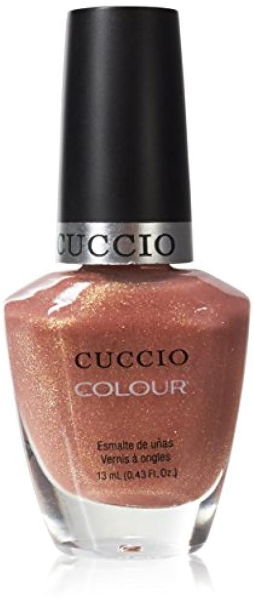 オリエンテーション口ひげコードCuccio Colour Gloss Lacquer - Sun Kissed - 0.43oz / 13ml