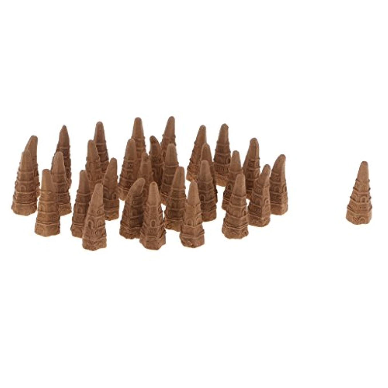 最後の慎重西ボックス スモールタワーコーン型 逆流香り 仏教 サンダルウッド 全2種 - オーストラリアサンダルウッド