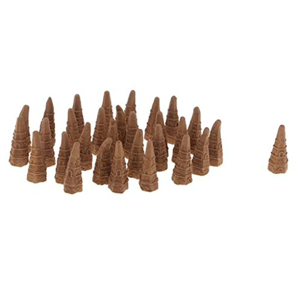 Fenteer 全2種 逆流香り 仏教 サンダルウッド 空気 質 改善 - オーストラリアサンダルウッド
