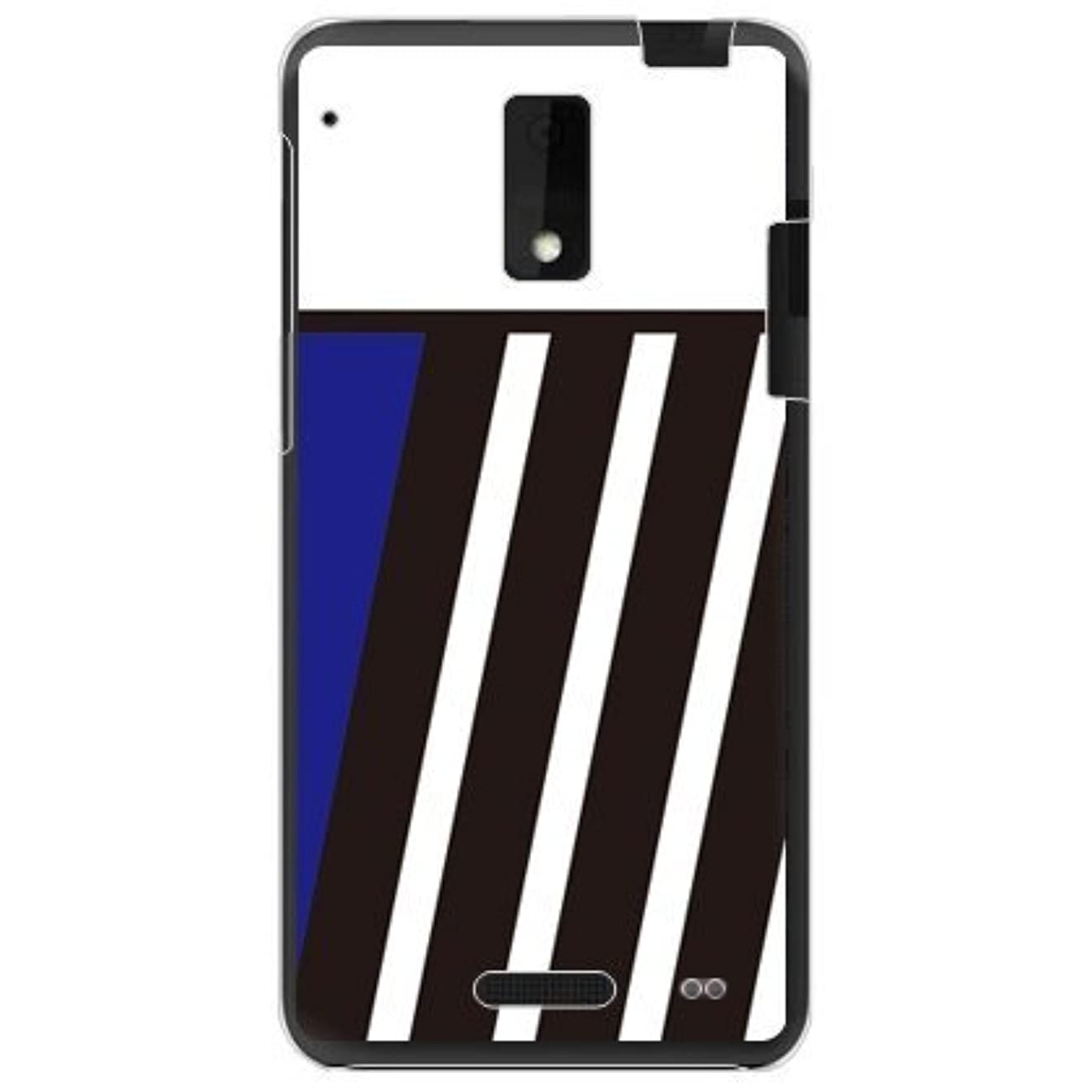 平衡政府ライセンスSECOND SKIN BLUE & BLACK ブルー (クリア) design by ROTM/for HTC J ISW13HT/au AHTJ13-PCCL-202-Y246
