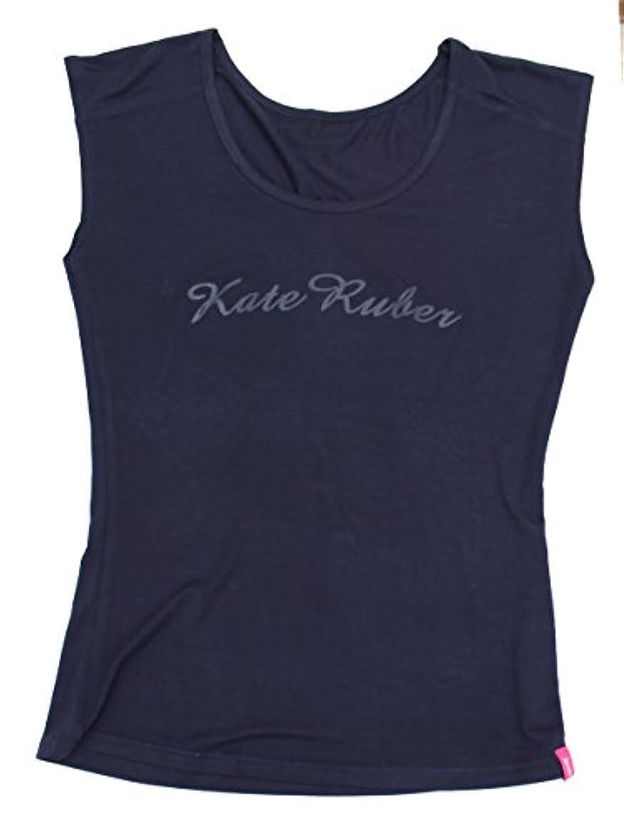 鉱石義務的ページKate Ruber (ケイトルーバー) ヨガTシャツ ネイビーLL-3L