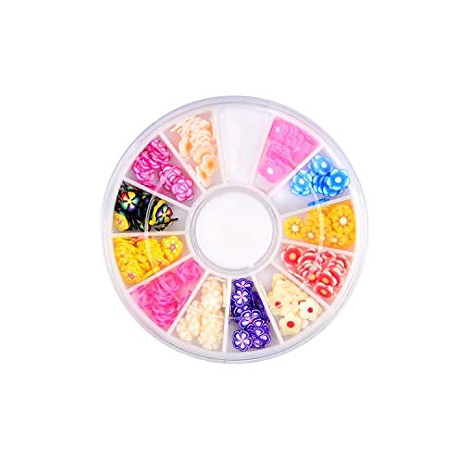 インフレーションコピー誓う6センチポリマークレイフルーツネイルアート装飾ネイルパッチアクセサリー,C3