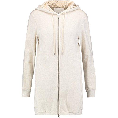 (スリーワン フィリップ リム) 3.1 Phillip Lim レディース アウター ジャケット Corded lace-paneled cotton-jersey hooded jacket [並行輸入品]