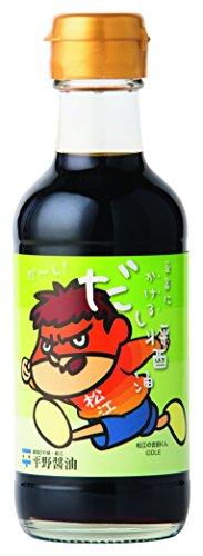 平野醤油 豆富にかける だし醤油 200ml  瓶