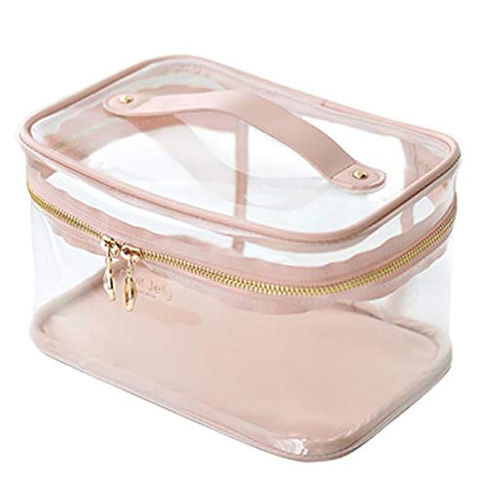 アコードかるテナント[テンカ]メイクボックス コスメボックス 大容量 おしゃれ 透明 かわいい 化粧品収納ボックス ブランド 人気 プロ 化粧ボックス 小物入れ 化粧道具 機能的 高品質 メイクポーチ 旅行 コスメケース 女性 ピンク