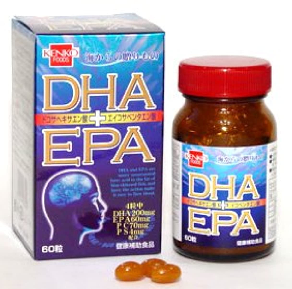 アクセシブル地殻長方形DHA?EPA(単品)健康フーズ
