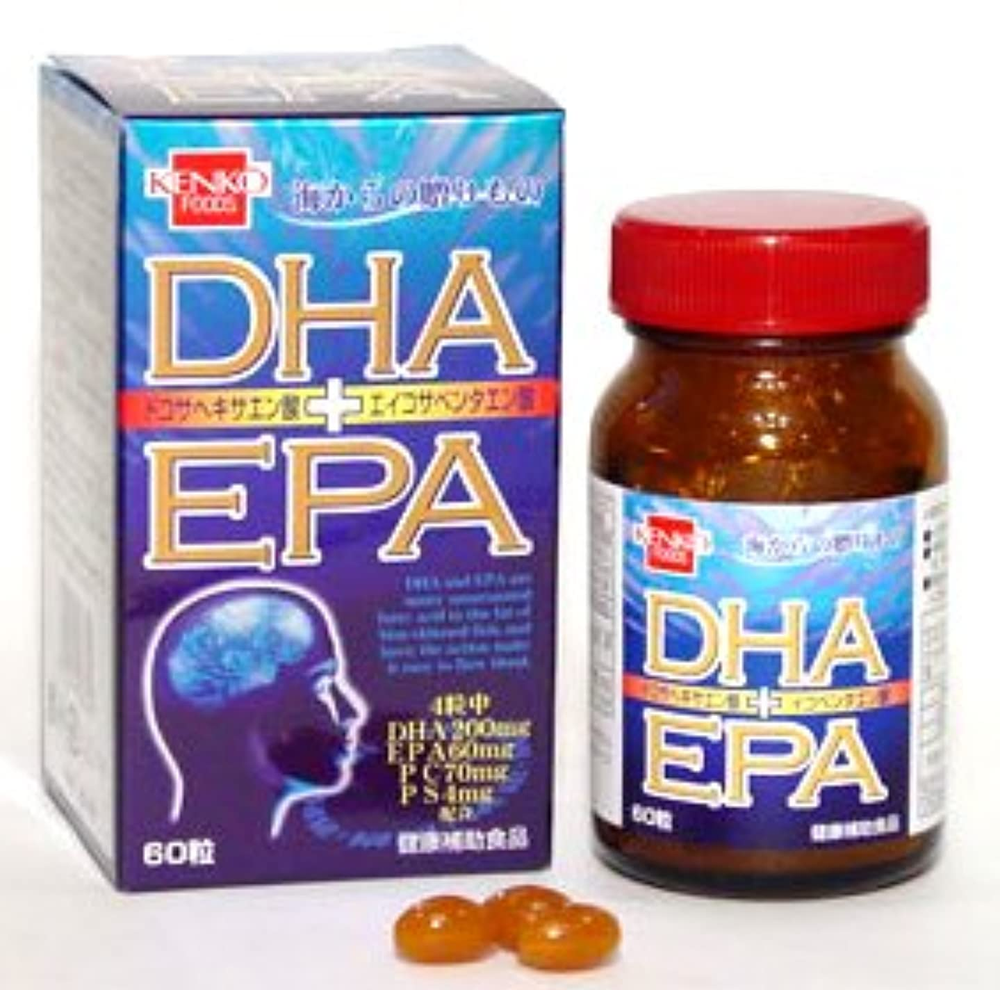 はず歩道活性化するDHA?EPA(単品)健康フーズ