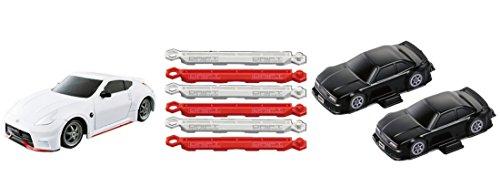 ドリフトパッケージナノ 超絶ドリテクコースセット 縦列駐車篇 日産フェアレディZ NISMO ホワイト -