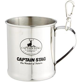 キャプテンスタッグ(CAPTAIN STAG) アウトドア用 コップ マグカップ ステンレス レジェルテ 300ml スナップ付 M-1244