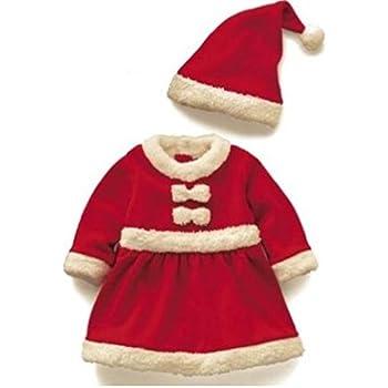 f8067f1ae346b Amazon.co.jp: 赤ちゃん 子供用 サンタ クリスマス 衣装 ベビー キッズ ...