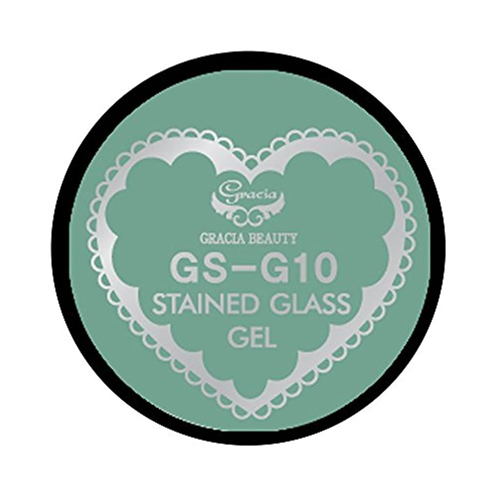 トレース時代遅れ出血グラシア ジェルネイル ステンドグラスジェル GSM-G10 3g  グリッター UV/LED対応 カラージェル ソークオフジェル ガラスのような透明感