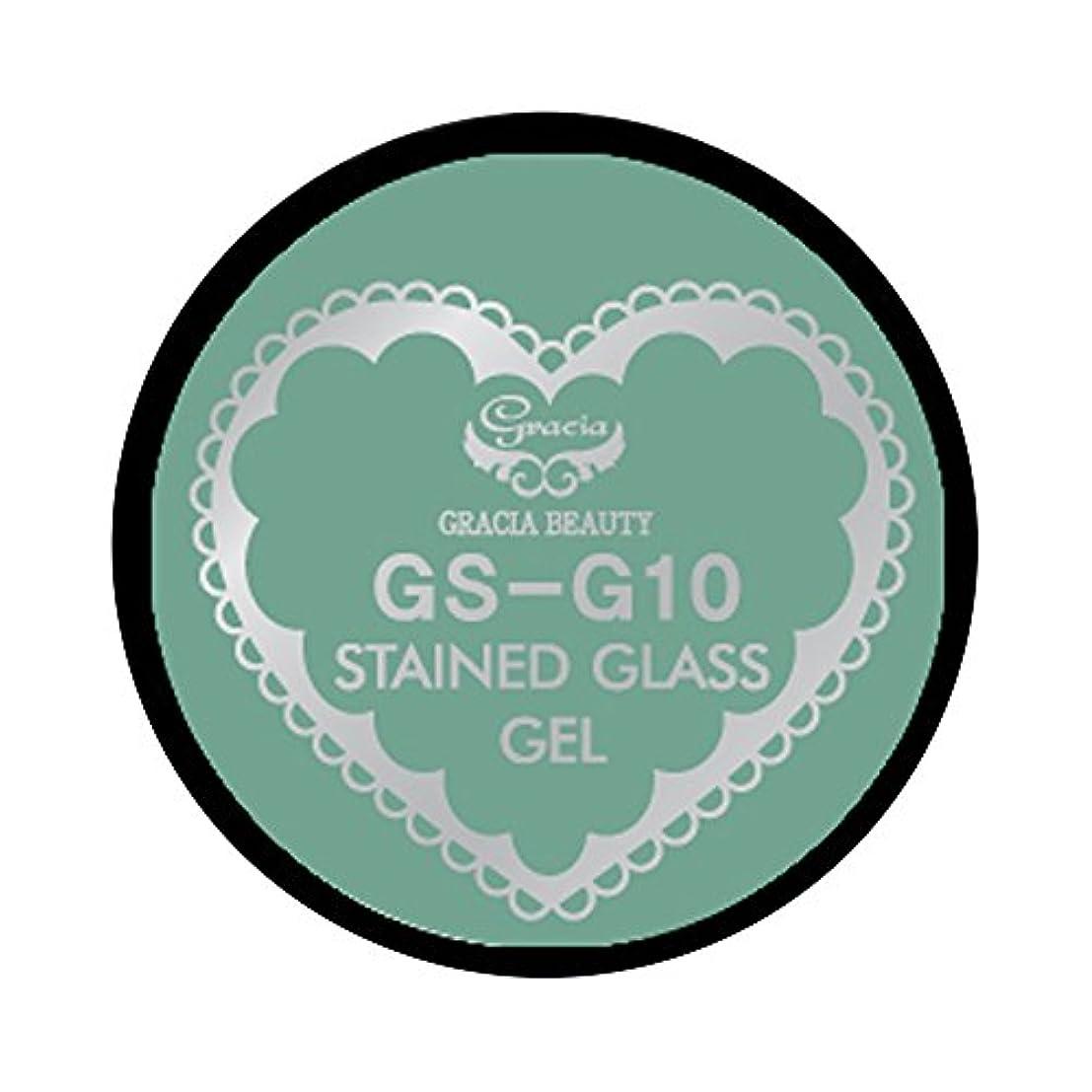 保持砂の残高グラシア ジェルネイル ステンドグラスジェル GSM-G10 3g  グリッター UV/LED対応 カラージェル ソークオフジェル ガラスのような透明感