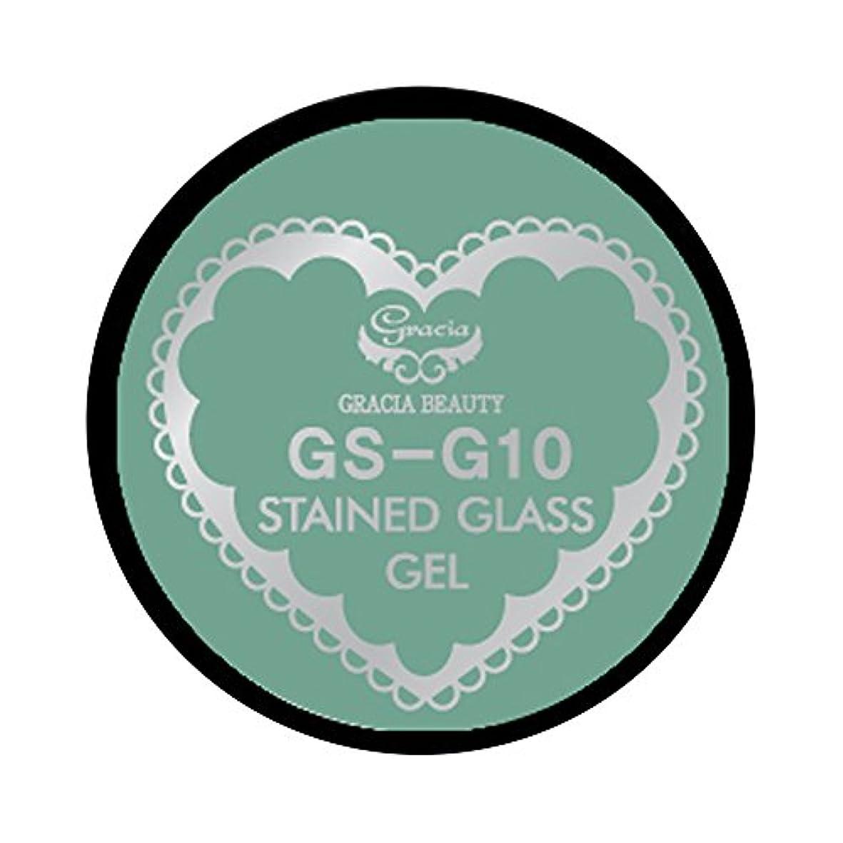 保証金レトルト除去グラシア ジェルネイル ステンドグラスジェル GSM-G10 3g  グリッター UV/LED対応 カラージェル ソークオフジェル ガラスのような透明感