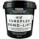 Hi Lift Cureplex Bond Lift Bleach 500g Dust Free Lightener Professional