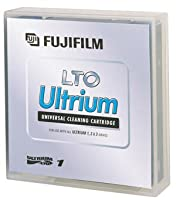 Fuji LTO Ultrium Cleaning Cartridge, 600004292, Ultrium-1, 2, 3, 4, 5, 6, 50 Pass, TAA [Non - Retail Packaged] by Fuji