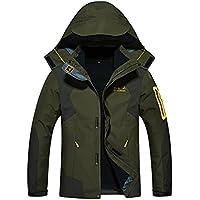 (ヒラロキ) Hilarocky メンズ レディース アウトドア ジャケット 裏フリース 3in1 コート 防水防風 アノラック ウンテンジャケット スキーウェア 登山服