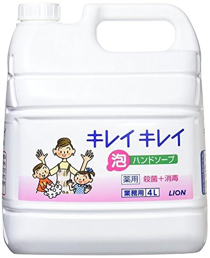 変動するお酒細心のキレイキレイ薬用泡ハンドソープ4L