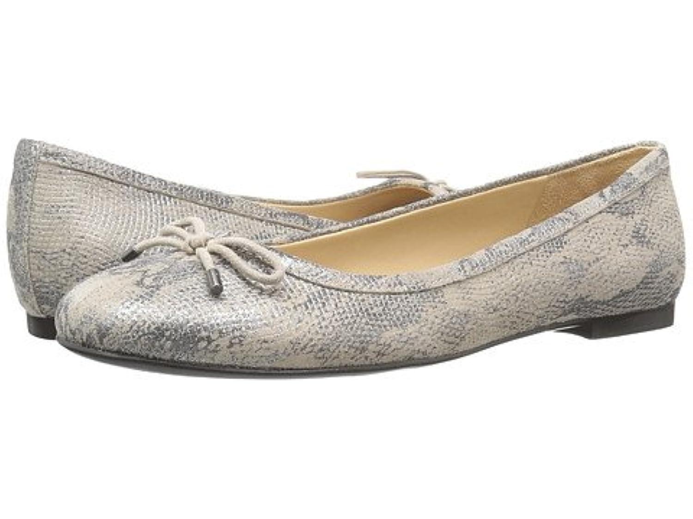 naturalizer ナチュラライザー レディースフラットシューズ?スリッポン?靴 Grace Silver Metallic Snake Leather 11 28cm N (AA) [並行輸入品]