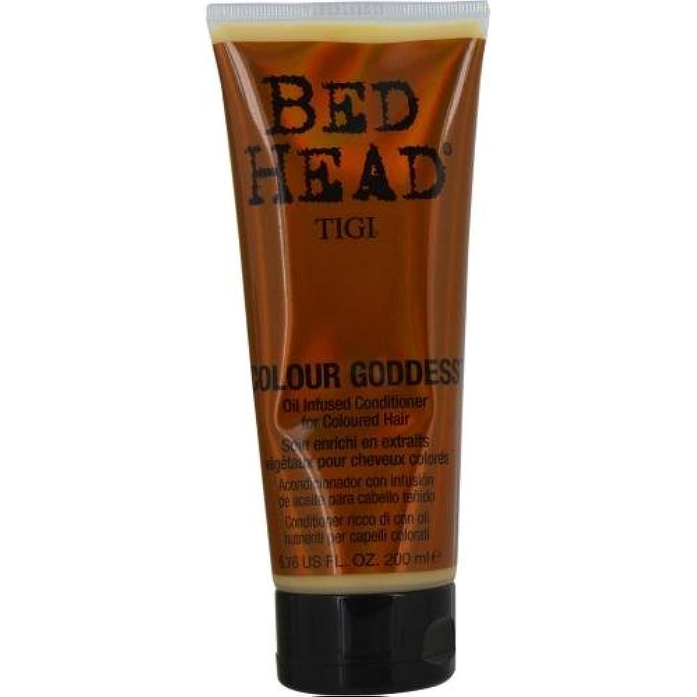ソーシャルその結果哲学者TIGI Bed Head Color Goddess Oil Infused Conditioner, 6.76 Ounce by TIGI [並行輸入品]