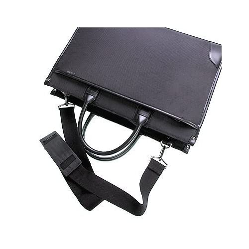 ビジネスバッグ A4サイズ対応 軽量型 2WAY メンズ レディース SAXON 5128(ブラック)