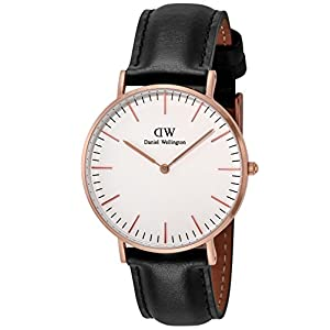 [ダニエル・ウェリントン]Daniel Wellington 腕時計 Classic Sheffield ホワイト文字盤 DW00100036 【並行輸入品】