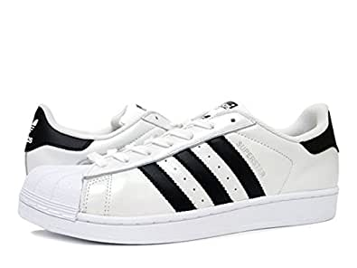 [アディダス] adidas SUPER STAR WHITE/BLACK 【adidas Originals】