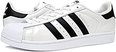 [アディダス] SUPER STAR WHITE/BLACK Originals