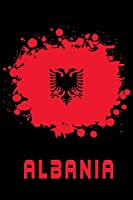 "Albania Flag Notebook: Beautiful Albania Flags Notebook with 120 plaid pages in Trim size 15,24 x 22,86 cm (6"" x 9"")"