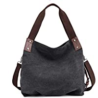COTEetCI Ladies Tote Bags Women Casual Tote Purses Bags Handbag Work Travel Shoulder Bags Girls