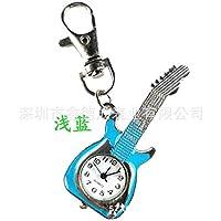 色の小さな懐中時計懐中時計創造的なファッションキーチェーンのカップル時計 (Color : L)