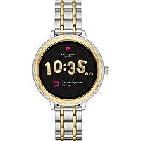 [ケイト・スペード ニューヨーク] 腕時計 SCALLOP TOUCHSCREEN SMARTWATCH タッチスクリーンスマートウォッチ KST2007 レディース 正規輸入品 シルバー