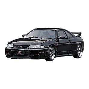 イグニッションモデル 1/43 ニッサン スカイライン GT-R (R33) V スペック ブラック 完成品